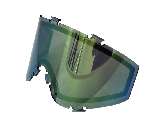 JT Dual Pane Anti-Fog Ballistic Rated Thermal Lens For Spectra Style Masks (Prizm 2.0 Yellow Retro)