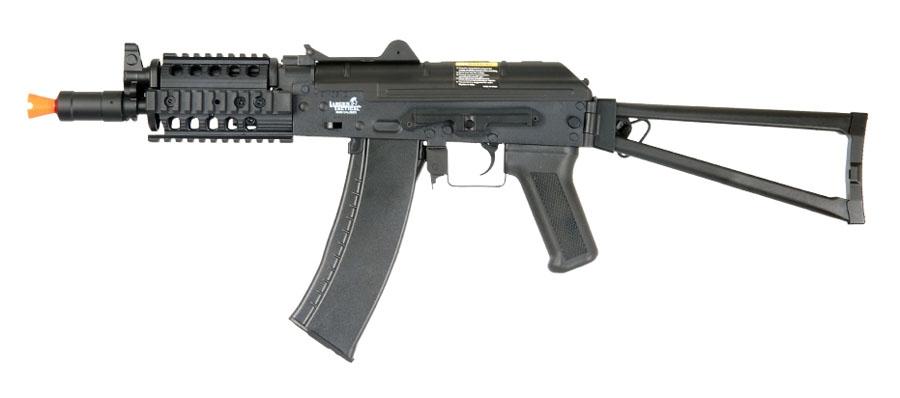 LT-07R Lancer Tactical AK-74U RIS Folding Stock Airsoft AEG Gun