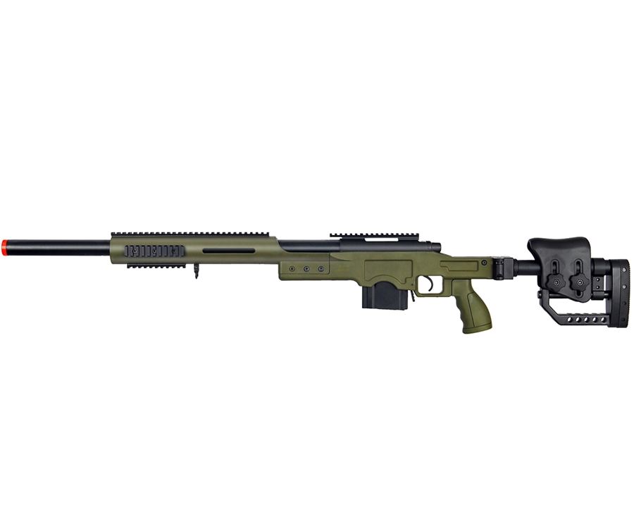 well mb4410 airsoft sniper rifle od green