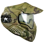 SLY ANNEX MI-7 Vented Protective Full Face Tactical Mask w/ Thermal Lens Black Sly-Cam