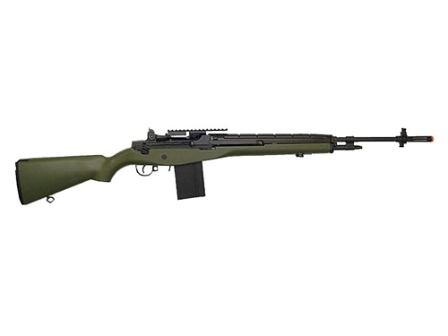 Green AGM MP008 M14 Airsoft AEG Full Auto Gun M14 Sniper Rifle Airsoft