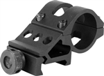 "AIM Sports Flashlight / Laser 1"" Off-Set Mount Fits 20mm Weaver Rail"