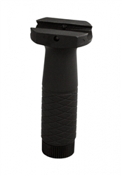 AIM Sports Tactical Rubberized Vertical Foregrip Fits Any RIS/RAS/Weaver Rails ( Black )
