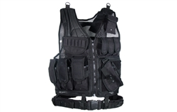 UTG Airsoft Tactical Scenario Vest Size Adjustable, Holster, Belt, Mag Pouches