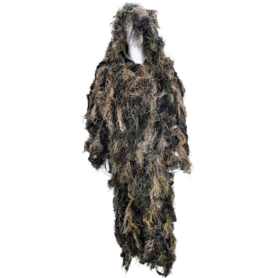 Rothco Lightweight All Purpose Tactical Airsoft Ghillie Suit - Woodland