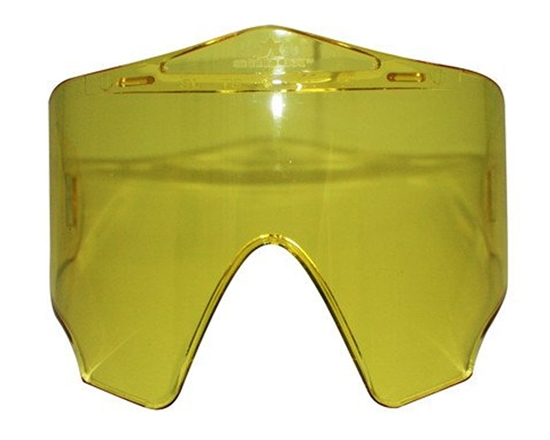 Valken Single Pane Anti-Fog Ballistic Rated Lens For Annex Masks (Yellow)