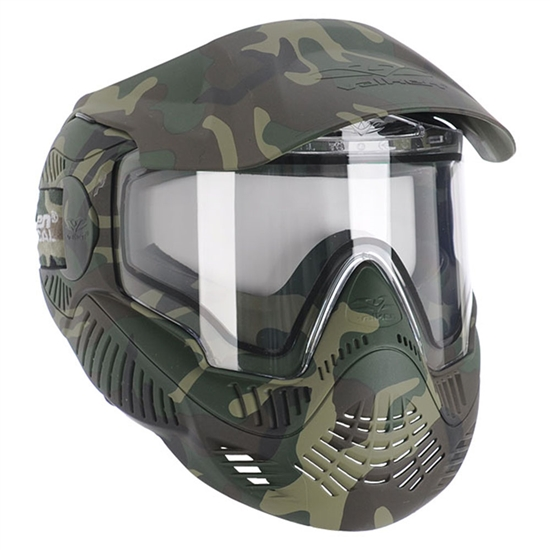 Sly Tactical Annex MI-7 Full Face Airsoft Mask - Woodland Camo