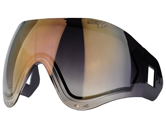 Valken Dual Pane Anti-Fog Ballistic Rated Thermal Lens For Identity/Profit Masks (Copper Mirror Gradient)