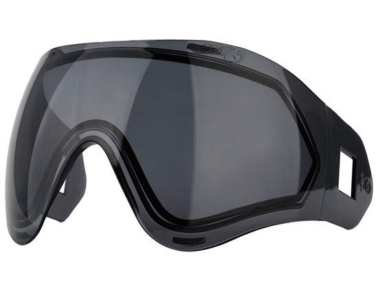 Valken Dual Pane Anti-Fog Ballistic Rated Thermal Lens For Identity/Profit Masks (Smoke)