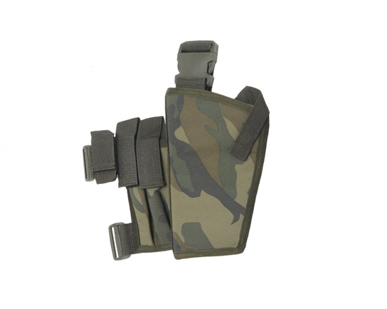 Special Ops Left Handed Deluxe Holster - Woodland Camo