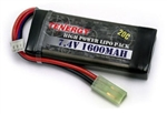 31270 Tenergy 7.4V 1600mAh 20c LiPo Brick Airsoft Battery
