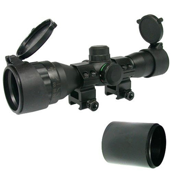 Tiberius Arms Airsoft Scope - 4x32 Illuminated