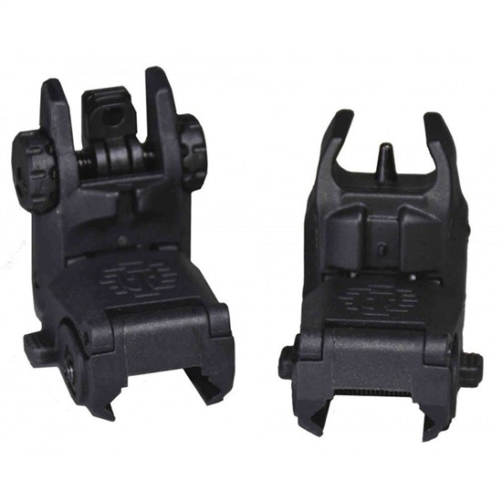 Tippmann Front & Rear Flip Up Airsoft Sights (T299039)