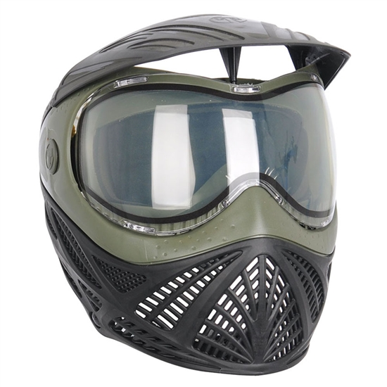 Tippmann Tactical Intrepid Full Face Airsoft Mask - Black/Olive