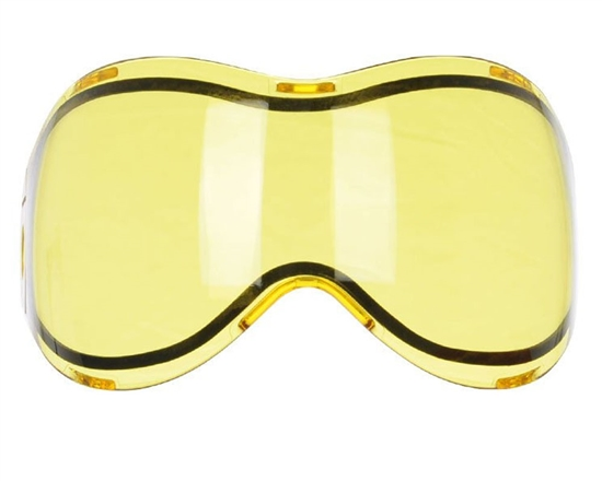 Tippmann Dual Pane Anti-Fog Ballistic Rated Thermal Lens For Intrepid/Valor Masks (Yellow)