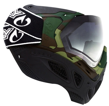 """Sly-Cam"" Sly Profit Full Face Mask Woodland Camo"