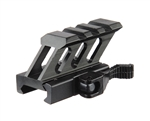 "Valken 0.5"" 45 Degree Riser Mount - Tactical -  3 Slot Quick Disconnect (79607)"