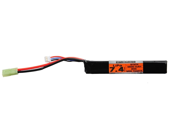 Valken 7.4v 1000mAh 20C Stick LiPo Airsoft Battery (48047)