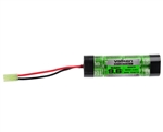 Valken 9.6v 1600mAh NiMH Flat Brick Mini Airsoft Battery (48115)