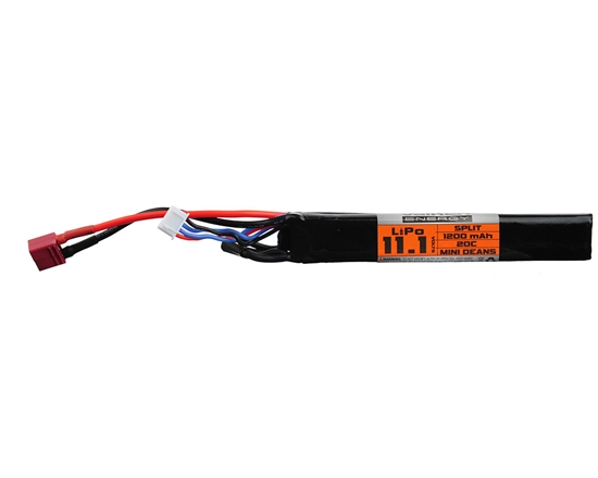 Valken 11.1v 1200mAh 20C Split LiPo Airsoft Battery - (Dean) (78679)