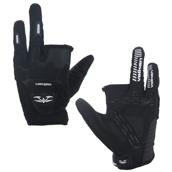 Valken Tactical Impact Two Finger Airsoft Gloves - Black