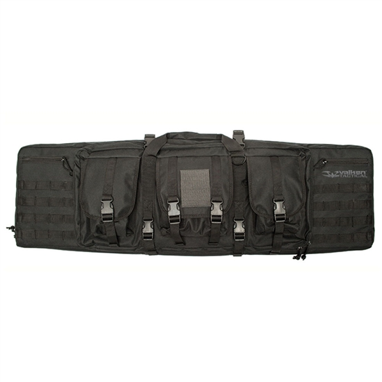 "Valken 46"" Tactical Double Airsoft Gun Bag - Black"