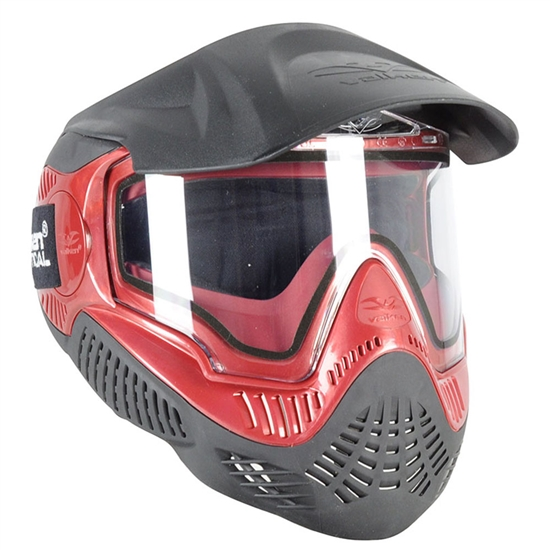 Valken Tactical Annex MI-9 Full Face Airsoft Mask - Red