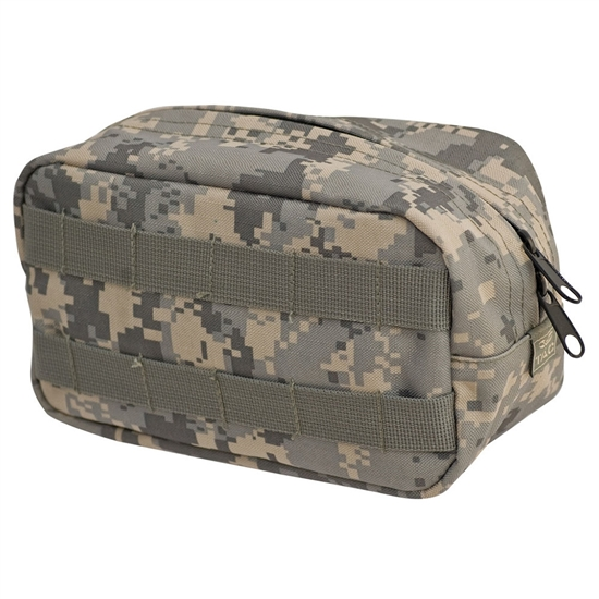 Valken Tactical Vest Accessory Pouch - Zipper ( ACU )