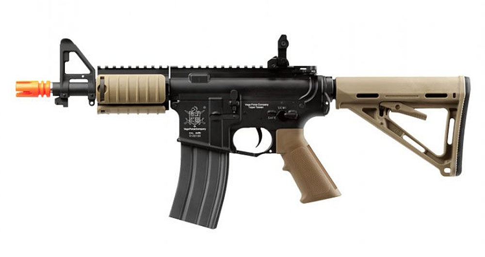 VFC AEG M4ES ESCORT TAN 2 vfc m4es escort full metal m4 ris cqb airsoft aeg rifle ( tan )  at n-0.co