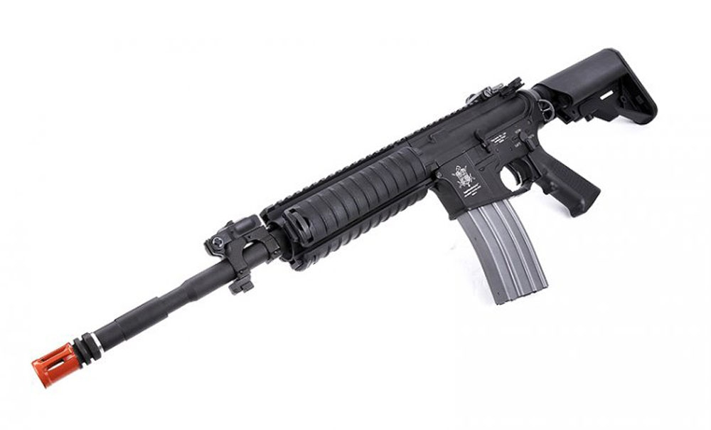 VFC AEG M4ES TC 2 vfc m4es tactical carbine full metal ris m4 airsoft aeg rifle  at n-0.co