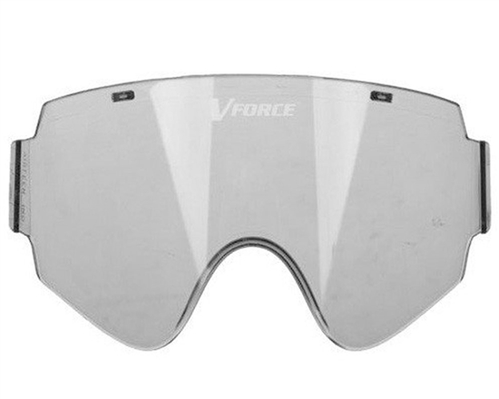 V-Force Single Pane Anti-Fog Ballistic Rated Lens For Armor Masks (Smoke)