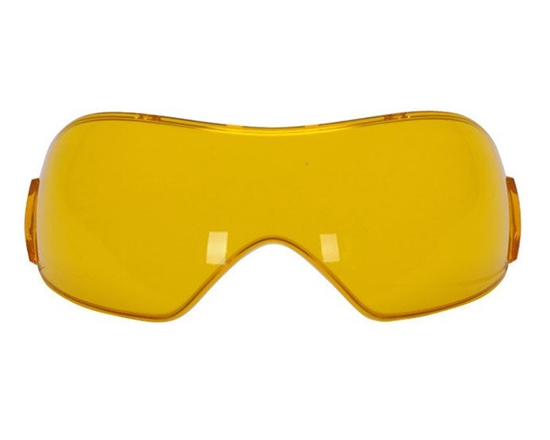 V-Force Single Pane Anti-Fog Ballistic Rated Lens For Grill Masks (Amber)