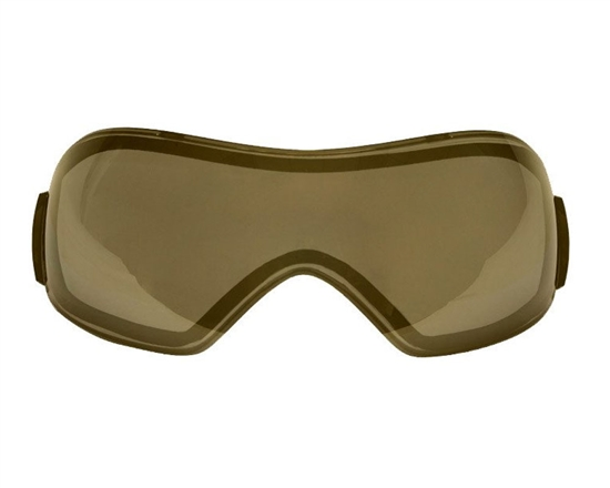 V-Force Dual Pane Anti-Fog Ballistic Rated Thermal Lens For Grill Masks (Mirror Gold)