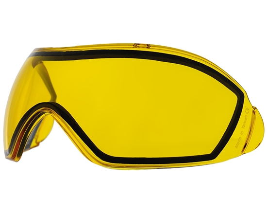 V-Force Dual Pane Anti-Fog Ballistic Rated Thermal Lens For Grill Masks (Yellow)