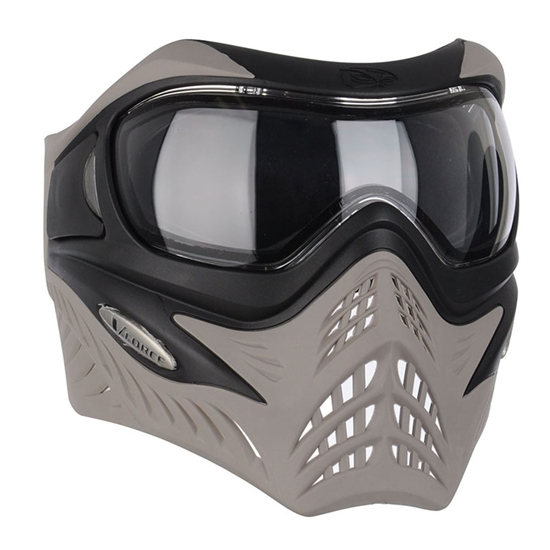 V-Force Tactical Grill Airsoft Mask - Black/Taupe