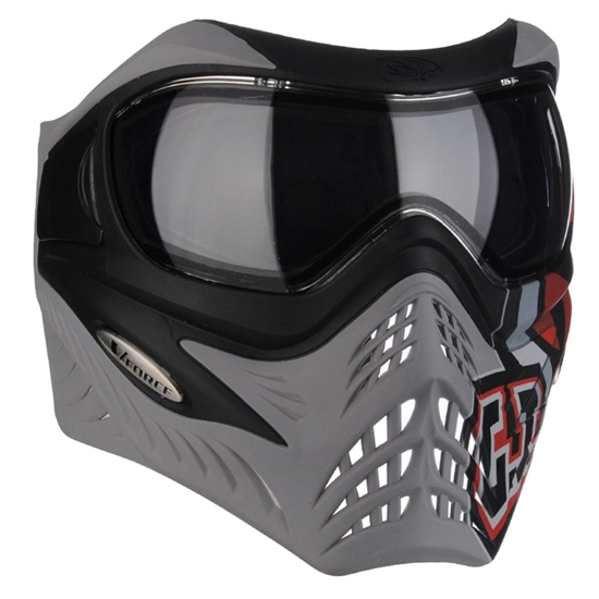 V-Force Tactical Grill Airsoft Mask - GI Logo Charcoal