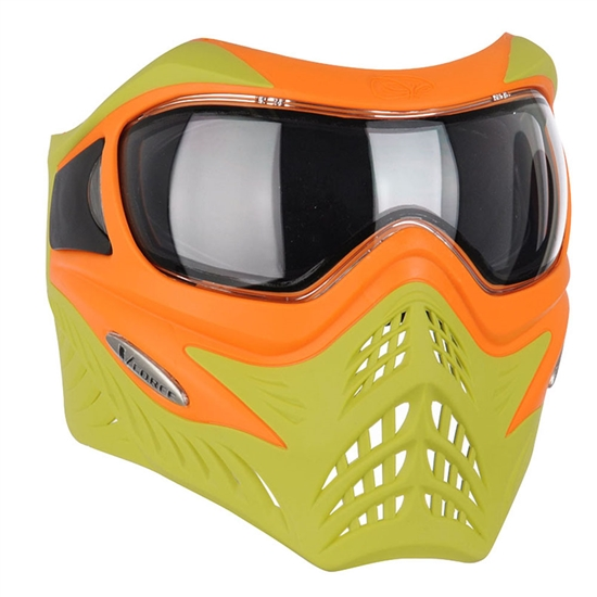 V-Force Tactical Grill Airsoft Mask - Orange/Lime