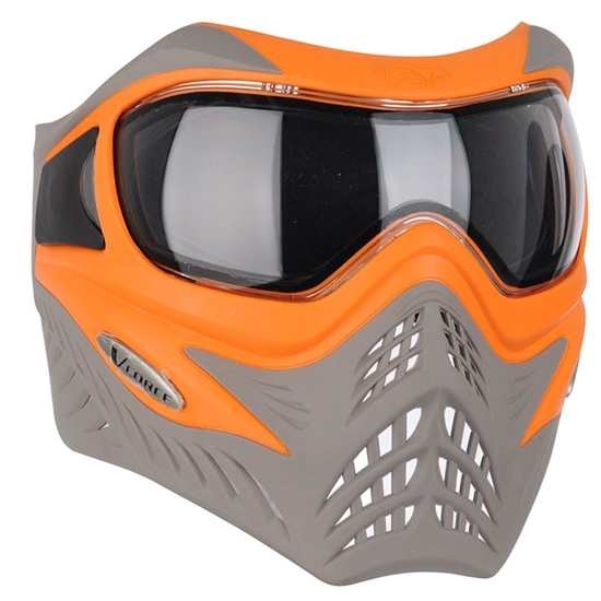 V-Force Tactical Grill Airsoft Mask - Orange/Taupe