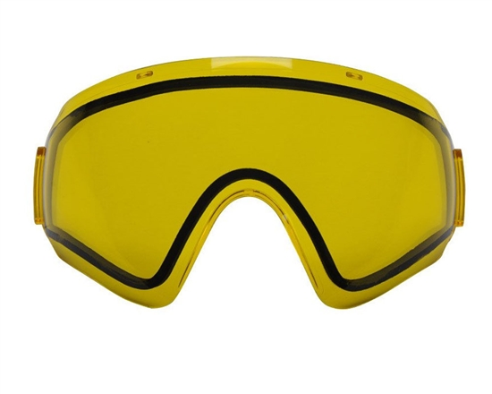V-Force Dual Pane Anti-Fog Ballistic Rated Thermal Lens For Profiler Masks (Yellow)