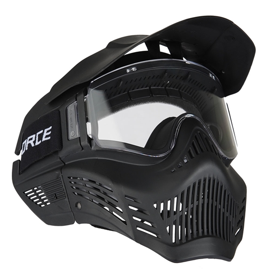 V-Force Tactical X-Armor Airsoft Mask w/ Single Lens - Black