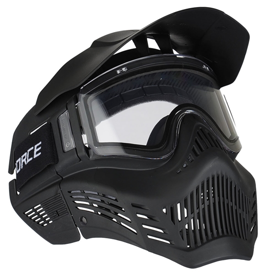 V-Force Tactical X-Armor Airsoft Mask w/ Thermal Lens - Black