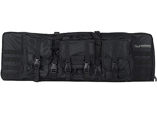 "Valken Airsoft Tactical Padded 36"" Double Rifle Tactical AEG Gun Case"