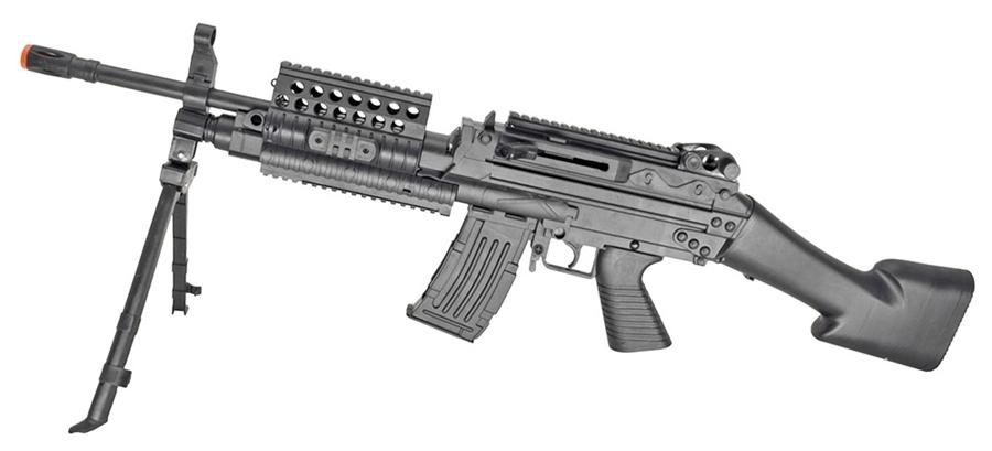 Mk46 Spring Action Ris Airsoft Gun Vx