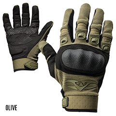 Zulu-Glove-OD Valken Zulu Hard Knuckle Tactical Gloves Green X-Large