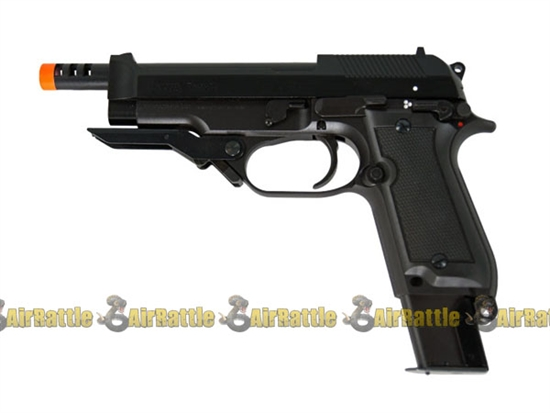 KWA Metal Blowback M93RII Airsoft Pistol Semi Automatic and 3 Burst Hand Gun