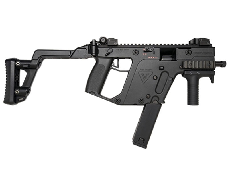 Kwa Kriss Vector Gas Blowback Force Velocity Airsoft Submachine Gun