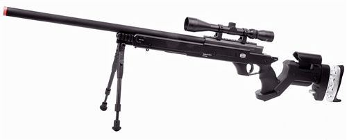 570 FPS MAUSER SR Full Metal Bolt Action Airsoft Sniper AWP Rifle w/BIPOD  Fully Licensed