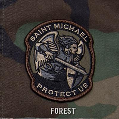 Mil-Spec Monkey Saint-M Modern Velcro Patch ( Forest )