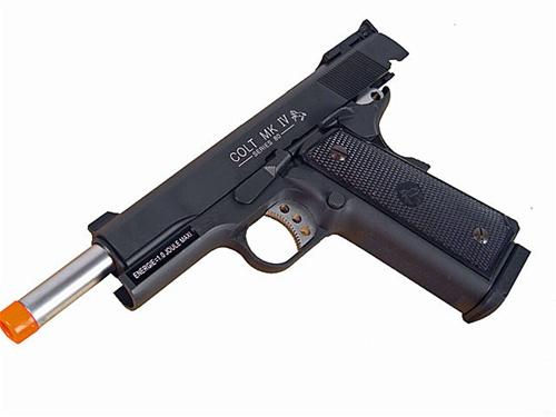 Kjw Colt 1911 Mkiv Full Metal Gas Blowback Airsoft Pistol