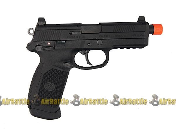 200508 Fn Herstal Fnx 45 Tactical Airsoft Gbb Pistol By Cybergun Black